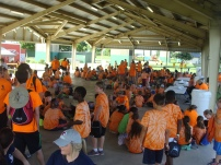 Summer Camp Event at St. Charles Westbank Bridge Park 2015