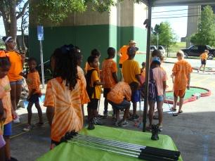 Summer Camp Event at St. Charles Parish Westbank Bridge Park 2015